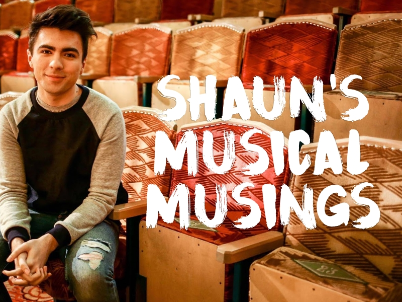 Shaun's Musical Musings homepage